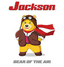 Jackson Bear of the Air is a delightful character for pre-school children